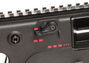 SMG Selector Lever closeup